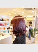 デジタルパーマ(髪型ミディアム)