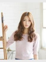 ゆるふわカール (髪型ロング)