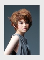 遊べるショートヘア(髪型ショートヘア)