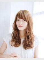 ロングパーマスタイル(髪型ロング)