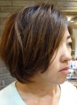 クールショートボブ(髪型ボブ)