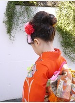 七五三ヘアアレンジ(髪型ミディアム)