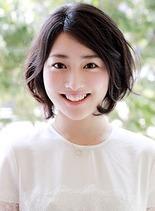 パーマショートボブ(髪型ショートヘア)