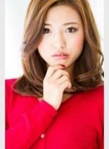 ミディアムクール(髪型ロング)