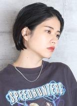 ショートボブ 担当:東田(髪型ショートヘア)