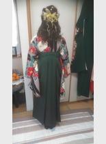 令和2年 袴スタイル(髪型ロング)