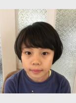女の子カット★(髪型ショートヘア)