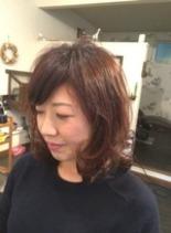 コーダイ 行田市 美容室(髪型ミディアム)