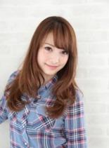 ロングヘア(髪型ミディアム)