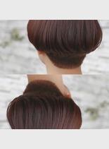 マッシュヘアー(髪型ショートヘア)