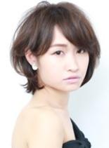 ショートボブ 担当:村瀬(髪型ショートヘア)