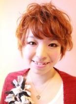 ゆるふわショート(髪型ショートヘア)