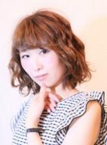 ブルブボブスタイル(髪型ボブ)
