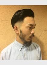 フェード×クラシック(髪型メンズ)