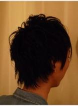 バックサイドスタイル(髪型メンズ)