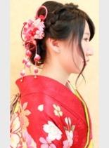 成人式(髪型ロング)