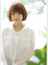 ハニーシフォンボブ(髪型ショートヘア)