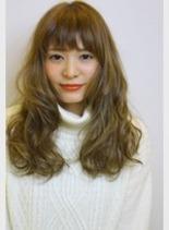ガーリーカール(髪型ロング)