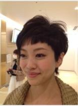 ベリーショート(髪型ショートヘア)