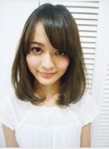 ☆小顔ミディアムボブ☆(髪型ミディアム)