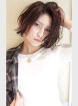大人女性・カジュアルボブ(髪型ボブ)