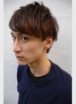 メンズワイルドショート(髪型メンズ)