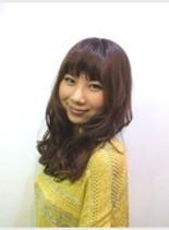 ゆるふわウェーブ(髪型ミディアム)