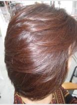 カラーした後の美髪の艶!(髪型ミディアム)