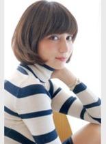 大人女性・マッシュボブ(髪型ボブ)