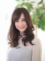 モテかわセミロング(髪型ロング)