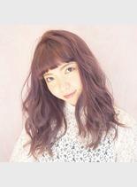 イノセントピンク(髪型セミロング)