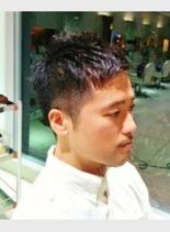 スポーティーショート(髪型メンズ)