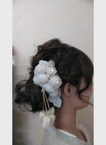 パーティーヘアー(髪型ミディアム)