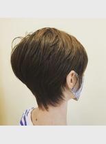 大人女性ショート(髪型ショートヘア)