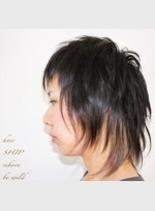 ウルフ(髪型ショートヘア)