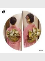 振り袖 ☆アレンジ☆(髪型ミディアム)