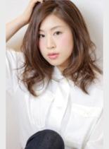 シースルーベージュ(髪型ロング)