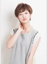 美シルエットショート★(髪型ショートヘア)