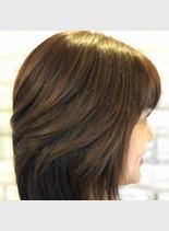 50代ニディアムスタイル(髪型ミディアム)