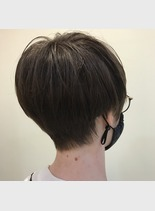 可愛いボリュームショート(髪型ショートヘア)