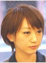 シャギーボブ(髪型ショートヘア)