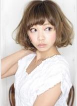 モンローボブ(髪型ミディアム)
