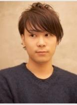 束感カジュアルショート(髪型メンズ)