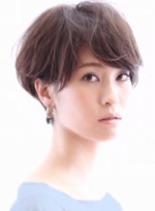 ショート 担当:村瀬(髪型ショートヘア)