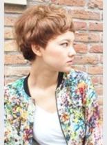 エッジショート(髪型ショートヘア)