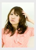 ふんわりCUTEパーマ♪(髪型ロング)