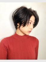 北川景子 風 ショート(髪型ショートヘア)