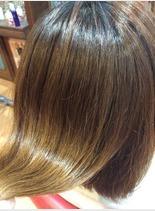 髪質改善トリートメント♪(髪型セミロング)