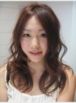 エアリーカール(髪型ロング)