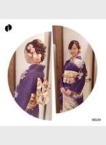 振り袖 アレンジ♪(髪型ミディアム)